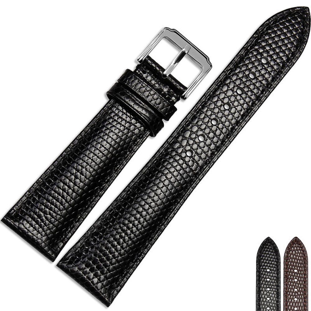 NESUN Unisex 20 mm/22 mm Calfskin Leather Watch Band Suitable For Movado/Tudor/Patek philippe Watches  Free Shpping<br>