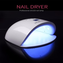 Professional DC 12V/2A 24W UV LED Nail Lamp Nail Dryer Unique Design Intelligent Nail Art Tool Accessories(China)