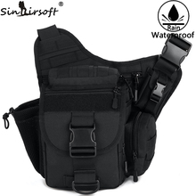 SINAIRSOFT Outdoor Sport Climbing Hiking Bags Camera bag Multifunctional Men Nylon Messenger Bag Military Tactical Camping bags(China)