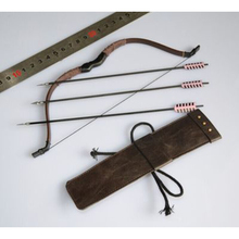 1/6 Scale Ancient Tools Models Bow Arrows Quiver Bags Models Action Figure Soldier Scene Accessories
