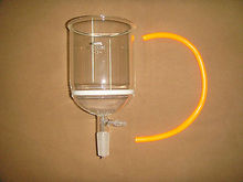 1000ml,24/40,Glass Buchner Funnel,3# Coarse Filter Disk,with The Vacuum Tube