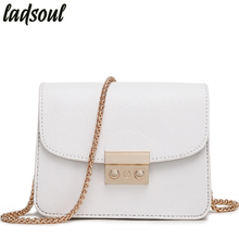 Ladsoul Mini Women Messenger Bags Good Quality Women Shoulder Bag Ladies Small Clutches Chain Women Crossbody Bags Tote ls8927/g(China)