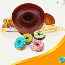 New Style Plastic DIY Donut Maker Cutter Mold Fondant Cake Bread Desserts Bakery Mould Baking Tools Kitchen Accessories