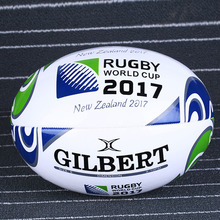 1 Piece New Zealand 2017 Standard Rugby Ball Size 5 # PU For Match and Training Scotland Rugby