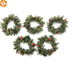 10PCS Artificial Stamen Berry Branches Christmas Wreath DIY Crafts Flower Wedding Party Decoration Scrapbooking Wreath Flowers(China)
