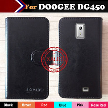 In stock! Dedicated Flip Leather Customize Phone Cover Case For DOOGEE LATTE DG450 Card Holder Wallet Business Style