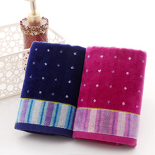 High quality 35*75cm Luxury Elegant Cotton Terry Hand Towels,Plain Decorative Designer Soft Bathroom Hand Towels,Toallas Algodon(China)