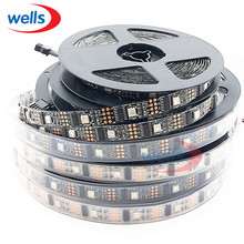 3M WS2801 Waterproof IP67 LED Strip 32 LEDs/M RGB Individually Addressable dream Color 2801 Chip DC5V(China)
