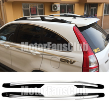 Car Roof Rack Silver Alloy Top Roof Side Rails Rack Cargo Luggage For Honda CR-V 2007 2008 2009 2010 2011 Roof Cross Bars
