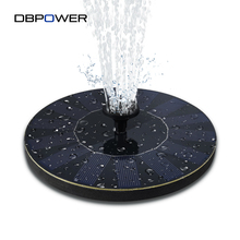 DBPOWER Solar Fountain Pump Solar Powered 1.4W Solar Panel Water Floating Pump Kit for Garden Decoration Lawn Patio Ponds(China)