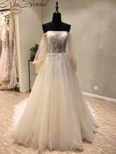 Overskirts Trouwjurk Lace Ball Gown Wedding Dresses 2017 robe de mariage Applique vestido de noiva Princess Arabic Bridal Gowns