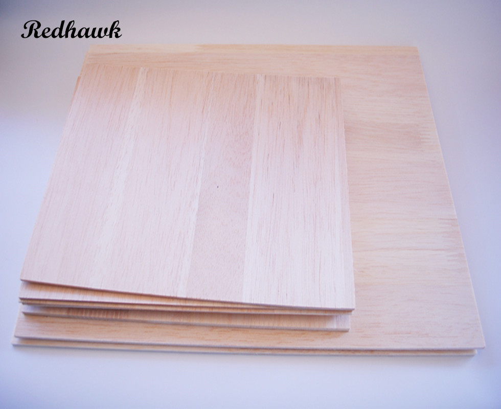 Super quality 600 or 300mm long 300mm wide 2/3/4/5/6/8mm thick AAA+ Balsa Wood Sheet Splicing board for airplane/boat DIY<br>