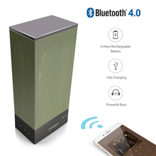 2017 Mindkoo bluetooth smart woofer Kalonki speaker portable LED Night Light Wireless columns speakers for the computer notebook(China)