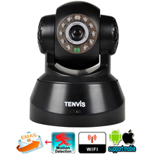 Tenvis JPT3815W Wifi Wireless Baby Monitor IP Camera Security P/T Phone Remote View Camera P2P network IOS & Android Application
