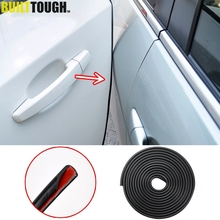 5m Car Door Scratch Strip Protector Edge Guard Rubber Seal Insert Sticker Styling ForKia Hyundai LADA GRANTA VESTA Toyota Nissan