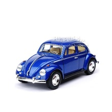 High Simulation Exquisite Diecasts&Toy Vehicles KiNSMART Car Styling Volkswagen Beetle 1967 Retro Classic Car 1:32 Alloy Diecast(China)