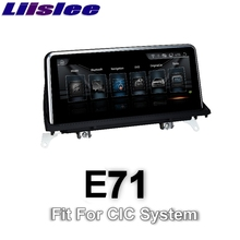 For BMW X6 E71 2011~2014 LiisLee Car Multimedia GPS Audio Hi-Fi Radio Stereo Original Style For CIC Navigation NAVI(China)