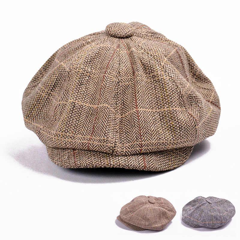 Detalle Comentarios Preguntas sobre Otoño Invierno boina de tweed en  espiga 3a79f3ee733