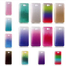 Y6 II Compact Cases Cover Glitter Diamond Shining Blingbling Silicon Soft TPU Phone Coque For Huawei Y6 ll Compact Etui Capinha