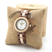 BOBO BIRD Women Quartz Watches Fashion Brand Ladies Dress Wristwatch with Full Wooden Band in Gift Box relojes mujer 2017