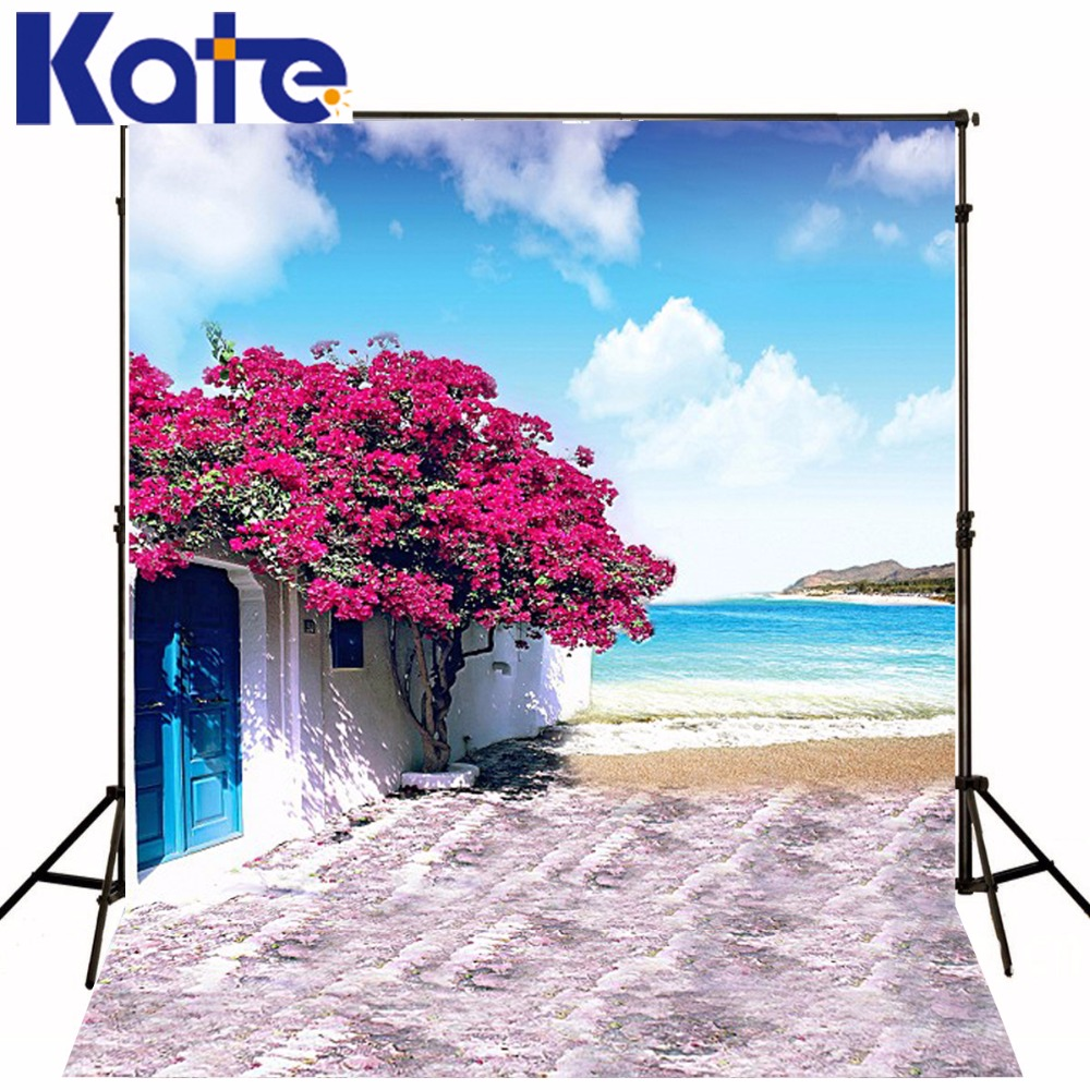300Cm*200Cm(About 10Ft*6.5Ft) Fundo Roof Sea Of Flowers3D Baby Photography Backdrop Background Lk 1926<br>