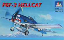 Out of print product! ITALERI 1213 - F6F-3 Hellcat - scala 1/72