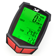 STE Wireless Bike Bicycle Computer Speedometer Waterproof LED Cycle Cycling Odometer ZMB02