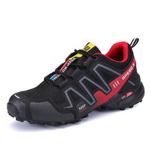 Trail Running Shoes For Men 2017 Outdoor Sneakers Off-road Sport Shoes Durable Cross Country Footwear For Male