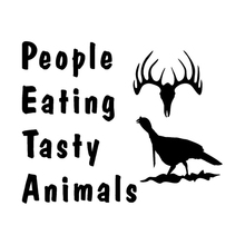 15.4cm*12.5cm People Eating Tasty Animals Car Sticker Motorcycle Vinyl Decal S4-0876(China)