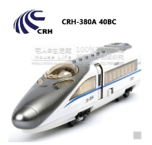High Simulation Exquisite Model Toys: CRH-380A Harmony EMU Locomotive Model 1:87 Alloy Trains Model Excellent Gifts
