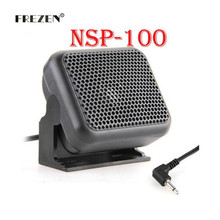 Mini External Speaker Microphone NSP-100 for Kenwood Yaesu ICOM Ham Radios(China)