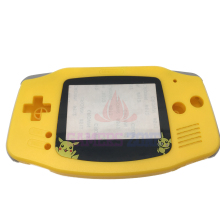 For Pokemon Pikachu Edition Yellow  Housing Shell Case Replace Cover For Nintendo GBA Gameboy Advance