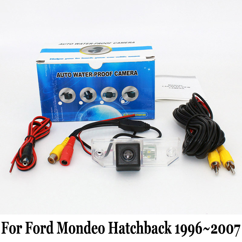 For Ford Mondeo MK2 MK3 Hatchback 1996~2007 / HD CCD Night Vision Rear View Camera / RCA AUX Wire Or Wireless Backup Camera(China (Mainland))