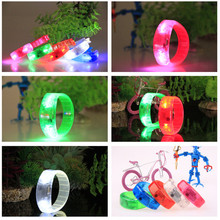 30pcs/lot With led voice control bracelets Luminous hand ring night party props ,glow in the dark party supplies light up toys