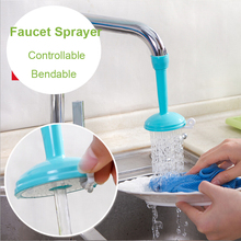 Creative Kitchen Tap Shower Water Hippo Rotating Spray Tap Water Filter Valve Save Water Shower Kitchen Bathroom Tool