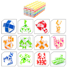 Buy megaminx 72 blocks High Speed hand spinner Magic Snake Shape Toys Game Twist Fidget Cube Puzzle Toys Gift ADHD Kids Craft for $9.59 in AliExpress store
