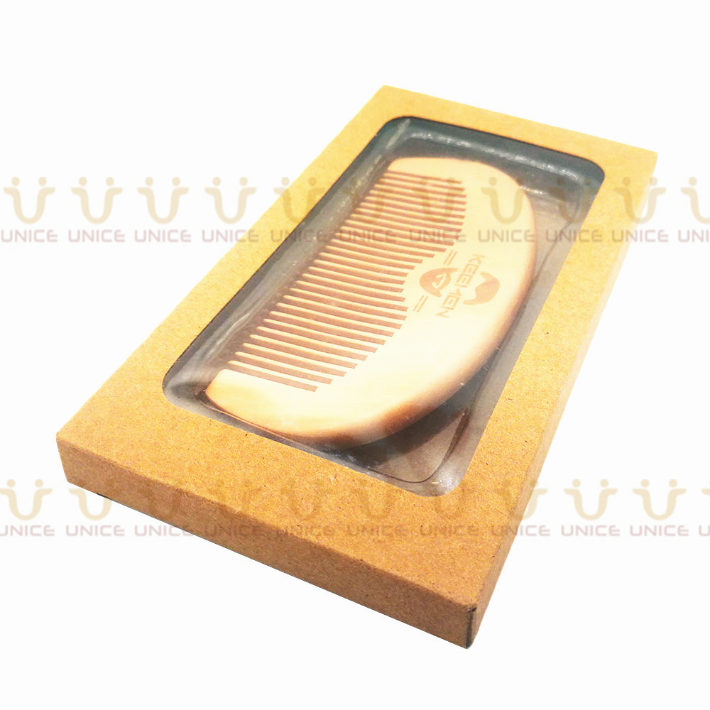 100pcs/lot Your LOGO Customized Private Label Combs Hair Beard Wood Comb for Men & Women for Barber Shop Retail Case 13