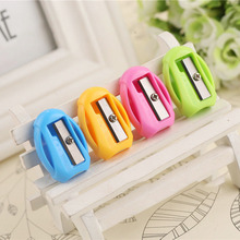 10Pcs Pencil Sharpener Cute Sweet Candy Colored Pencil mini music player Sharpener Kids School Supplies Stationery(China)