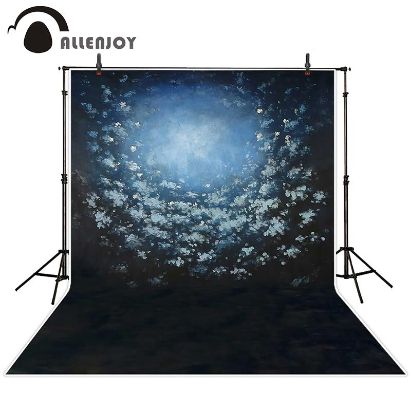 Allenjoy photographic background Videos black flower light backdrops children princess digital fabric 10ft*20ft<br><br>Aliexpress