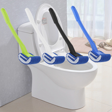 Plastic Long Handle Toilet Brush Bathroom Toilet Scrub Cleaning Brush Lavatory Brush Home Cleaning Tools 4 Colors