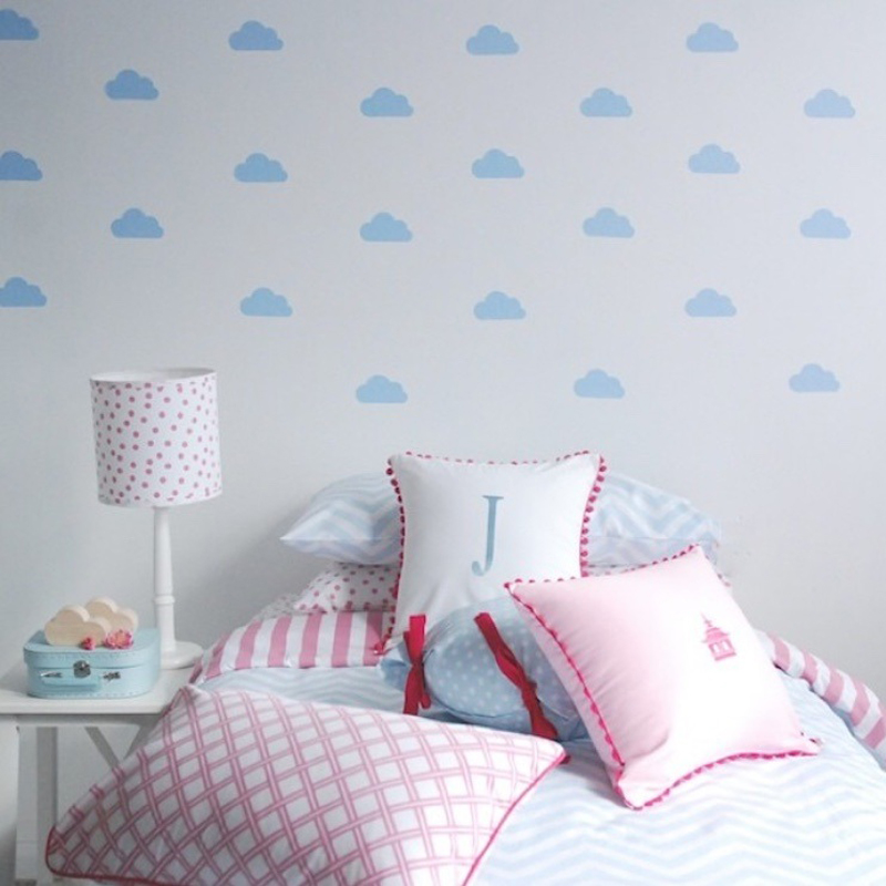 HTB1No06RpXXXXaNXXXXq6xXFXXXC - Little Cloud Wall sticker For Kids room