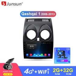 Junsun Штатное Головное устройство For Nissan Qashqai 1 2006-2013 J10 GPS навигатор Android 8.1 aвтомагнитола магнитола 2 din автомагнитолы Андроид для Ниссан Кашкай ...
