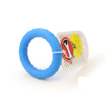 New Dog Toys Pet Puppy Chew Rubber Ring Tooth Cleaning Ring Food for Dog Pet Accessories Animal Puppy Chew Toys(China)