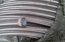 1 meter AN -8 AN8 8an  Stainless Steel Braided PTFE tpfe teflon hose Fuel Line Oil Gas for ej20 ej25 fuel rail