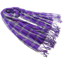 Excellent new European and American press Zou plaid scarves fringed long paragraph the scarf lovers scarf 190 * 65 Free Shipping