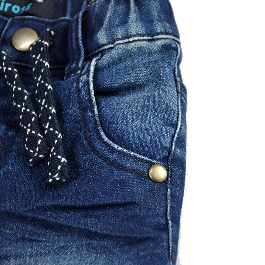 HSIN1609004-3Infant Baby Boy&Girl Denim Jeans Pants Newborn Bebe Soft Harem Pants Toddler Kid Stretch Jeans Solid Trousers Children Clothing
