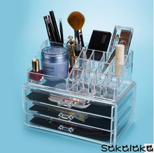 transparent acrylic poisonless and tasteless cosmetics boxes jewelry boxes cosmetic box suits desktop accessories storage box