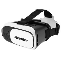 Arealer VRroam Cardboard VR Box Virtual Reality VR Glasses goggles VR Headset Movie Game for 3.5 to 6.0 Android iOS Smart Phones(China)