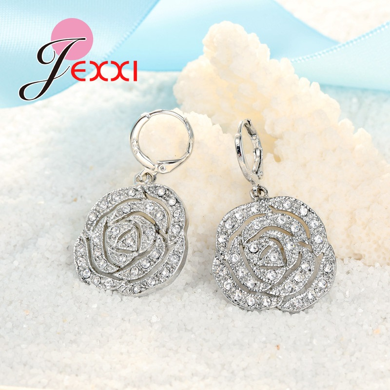 JEXXI-Classic-Rose-White-Women-Jewelry-Sets-Silver-Color-Pendant-Earrings-And-Necklace-Jewelry-Sets-High (3)