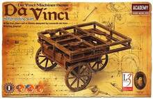 Academy 18129 Da Vinci Machines Series Classic original Self propulsion shopping cart Plastic Model Kit